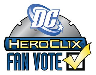 Dc Heroclix FAN VOTE logo