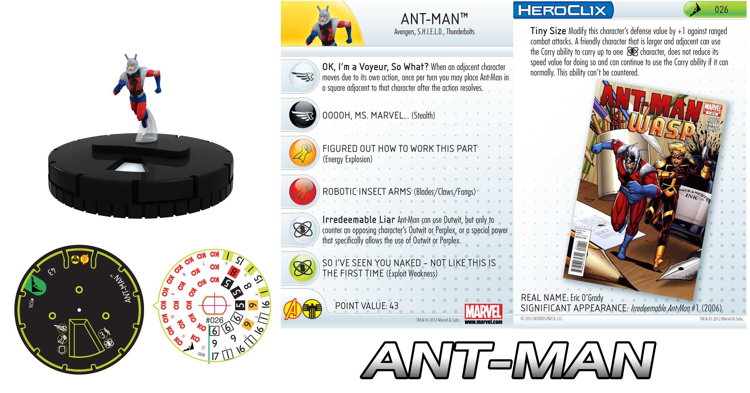 Heroclix Ant-Man