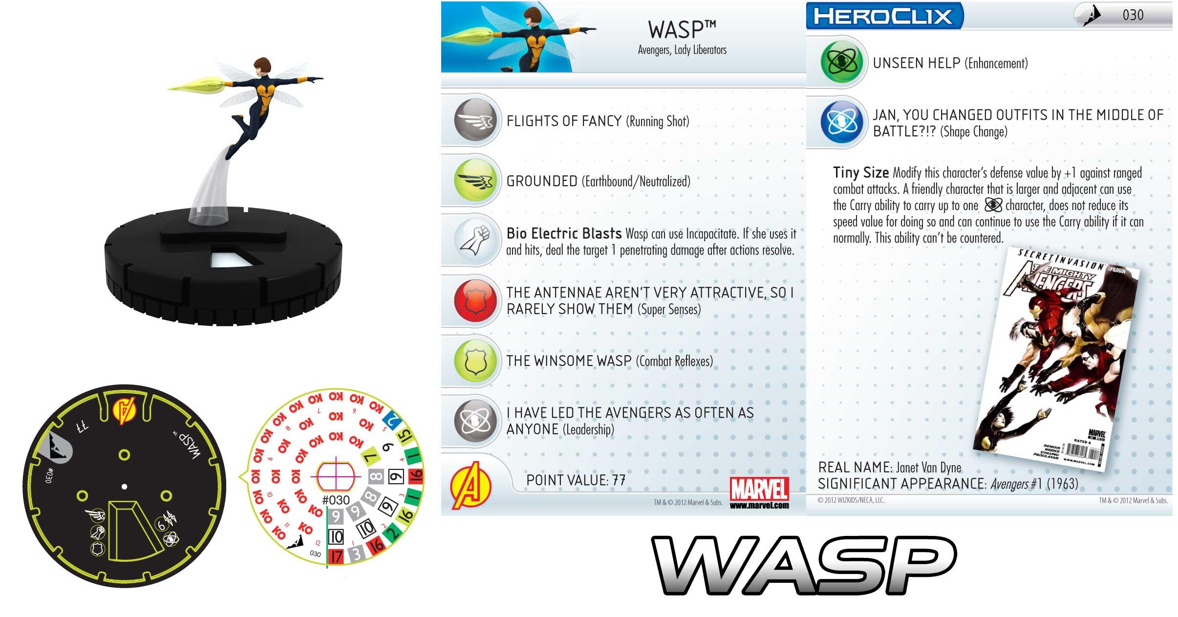 Heroclix Wasp