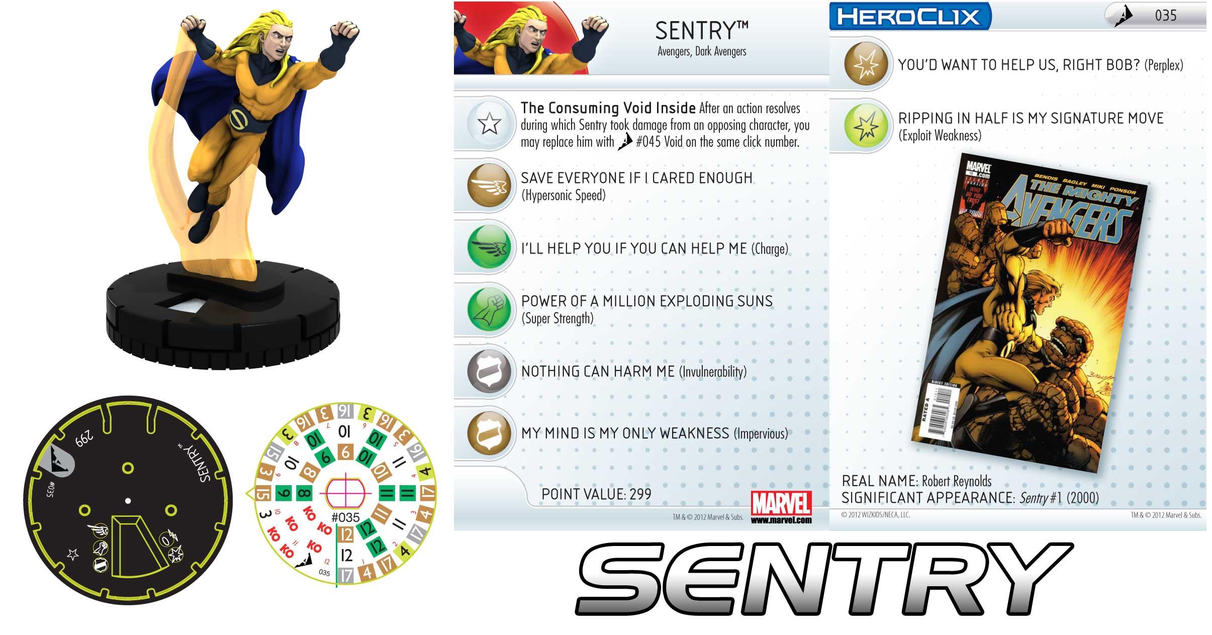 Heroclix Sentry