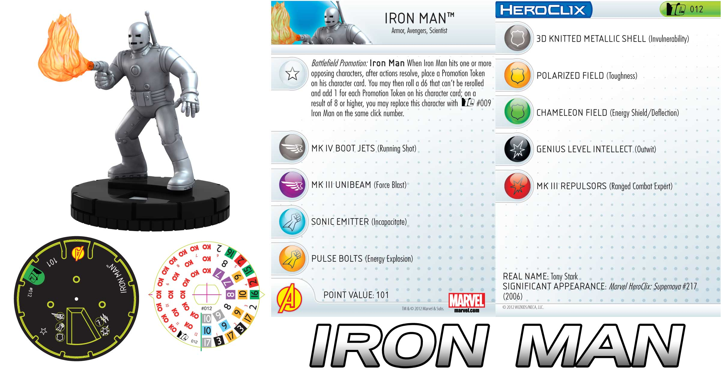marvel 10th anniversary ironman 10th is up! - heroclix realms