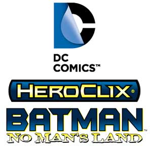 Batman No Man's Land DC Comics Heroclix Logo