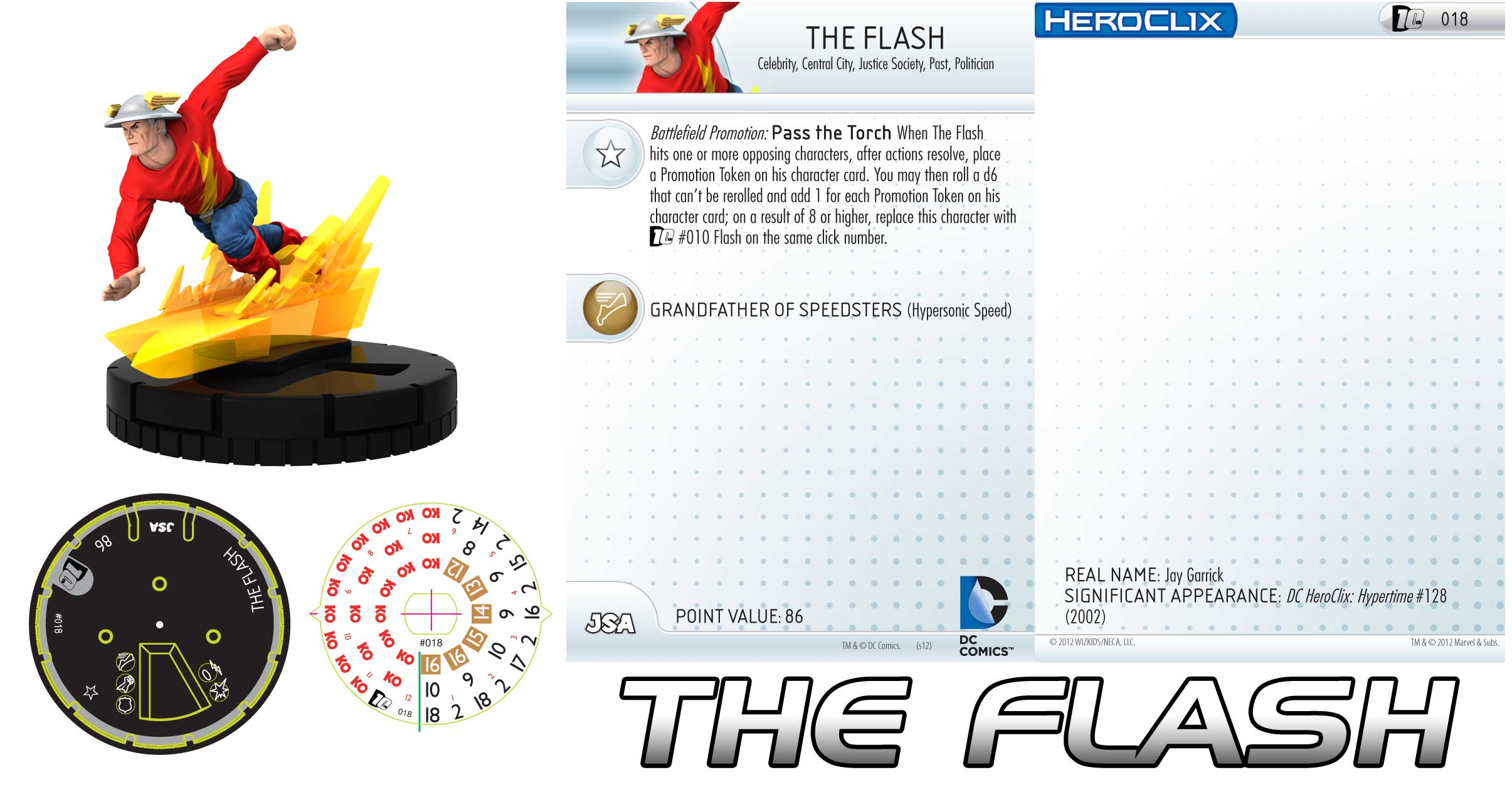 dc comics 10th anniversary flash is up - heroclix realms