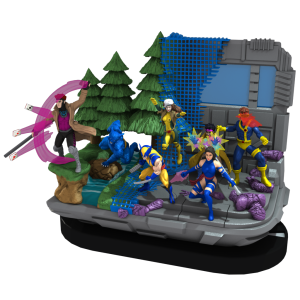 Heroclix Blue Team base