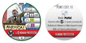 human protestor