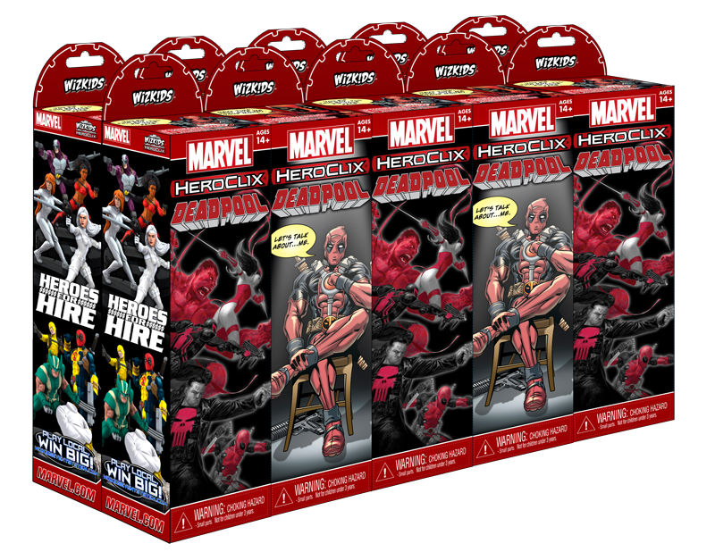 Official Deadpool Evidence And Dial Thread Heroclix Realms