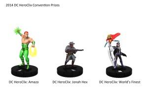 DC HeroClix - Prizes