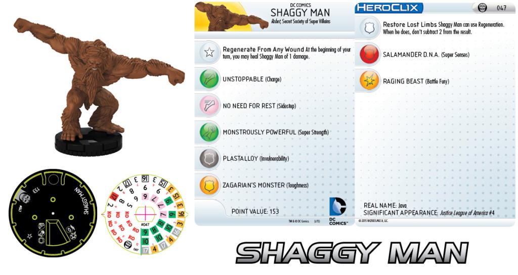 shaggy man
