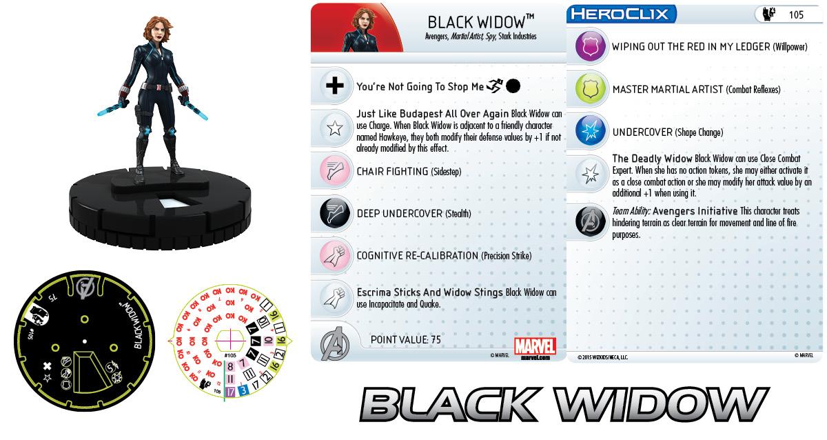 Black Widow, Avengers, Age of Ultron