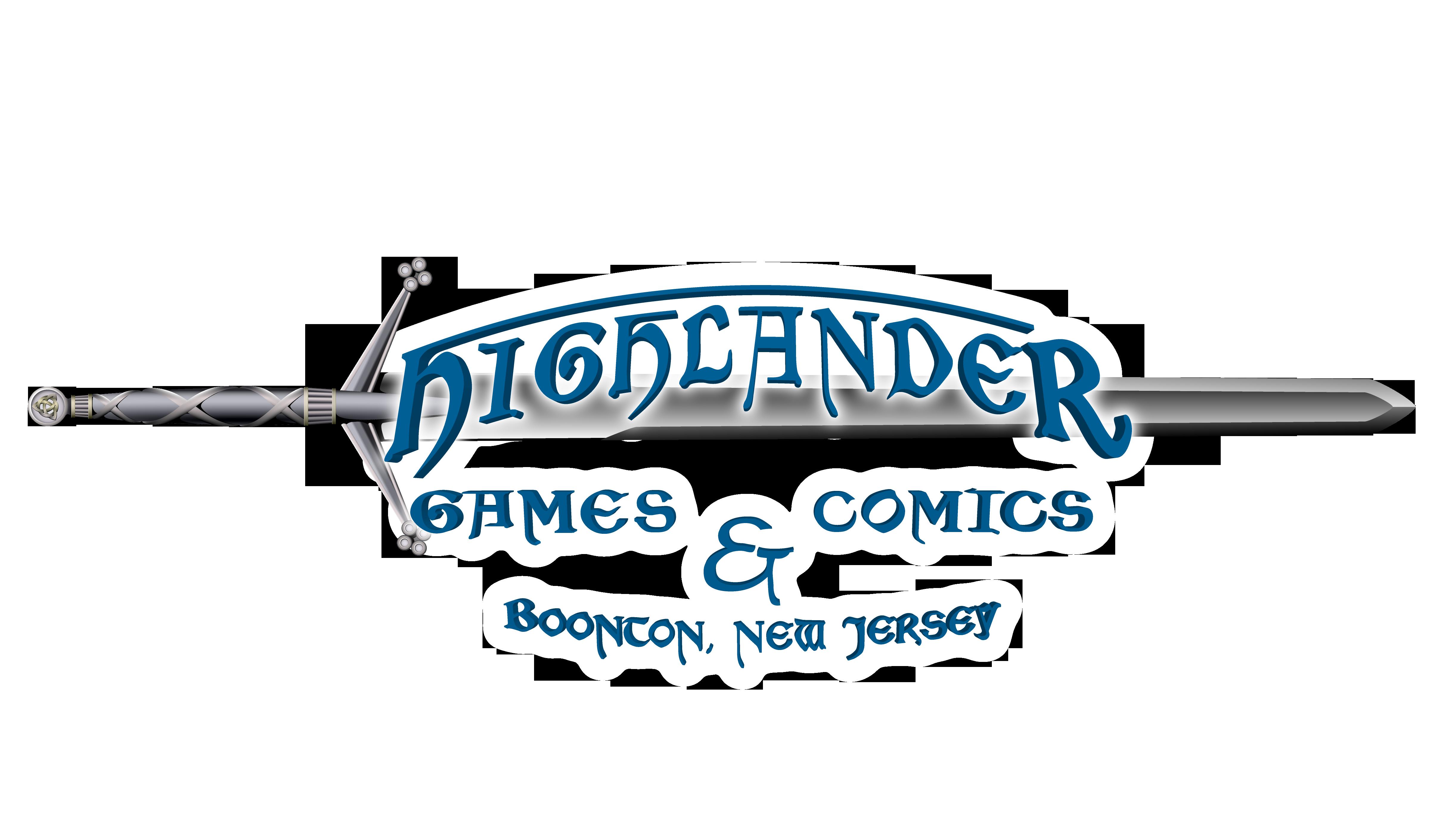 Highlander Games and Comics