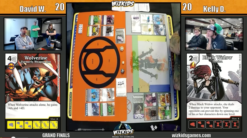WizKids US Nationals- Dice Masters Final
