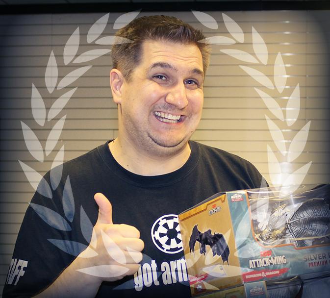 Rich Kopacz 2015 D&D Attack Wing National Champion