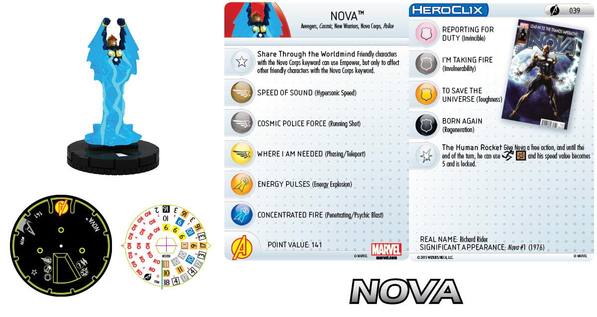 Marvel HeroClix: Avengers Assemble: Nova