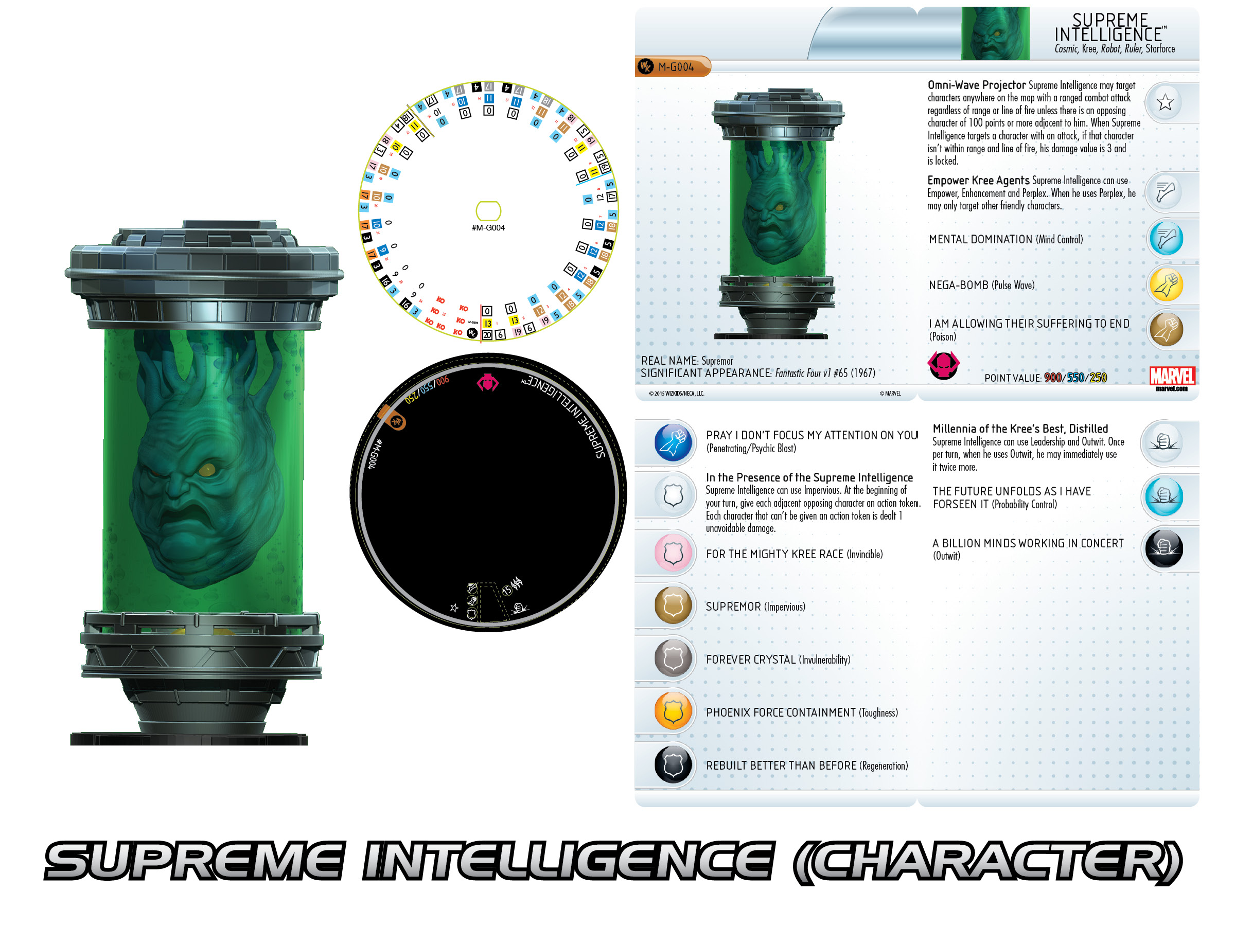 Marvel HeroClix Convention Exclusive Supreme Intelligence