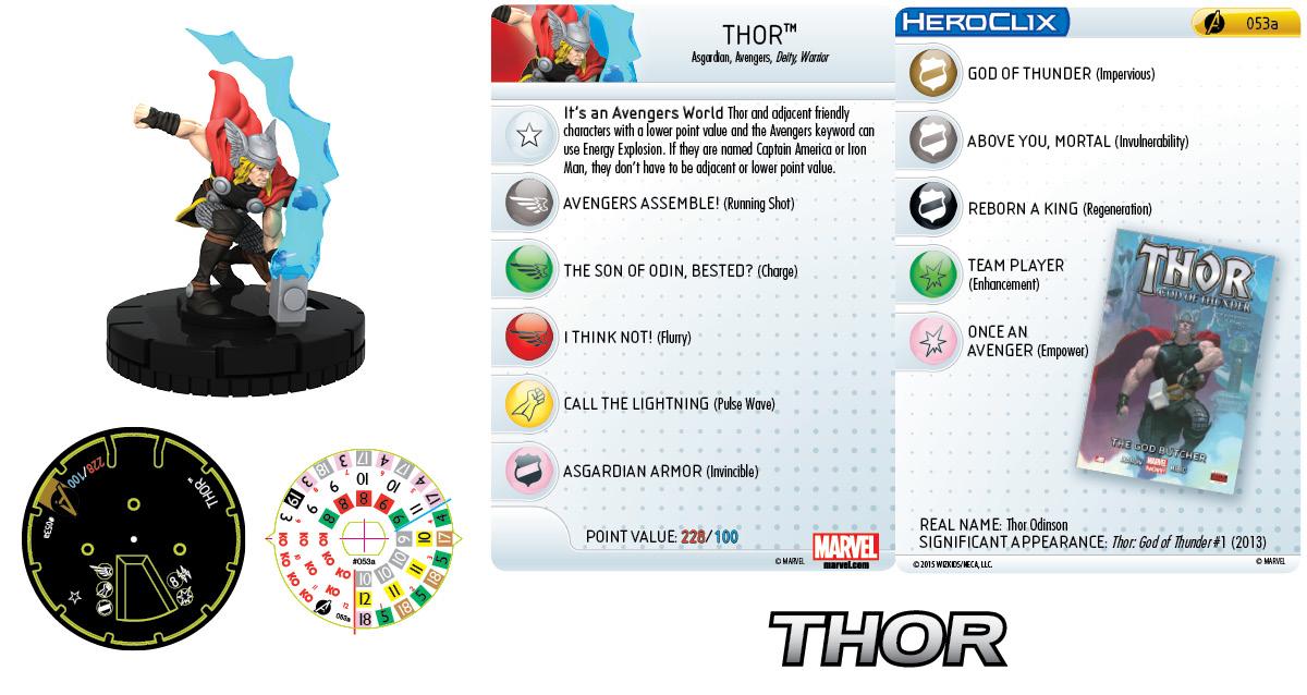 Marvel HeroClix: Avengers Assemble- Thor