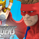 Marvel HeroClix: Avengers Assemble- Black Widow and Goliath Chases