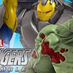 Marvel HeroClix: Avengers Assemble- Hulk, Iron Man, Steve Rogers