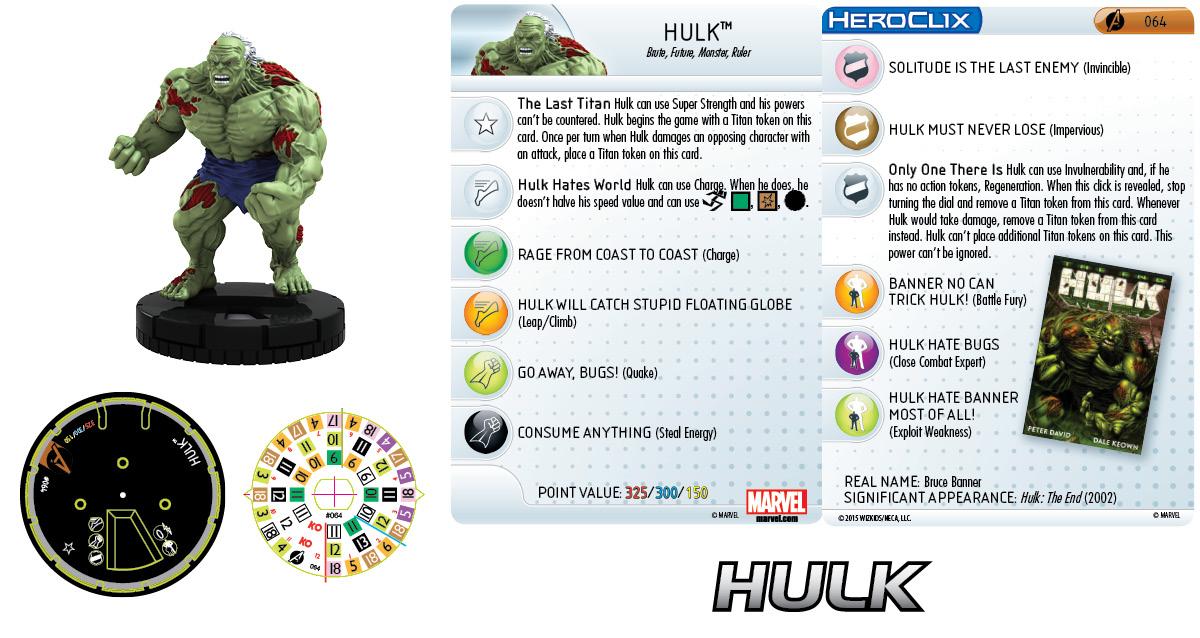 Marvel HeroClix: Avengers Assemble- Hulk Chase