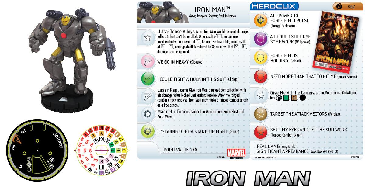 Marvel HeroClix: Avengers Assemble Iron Man Chase
