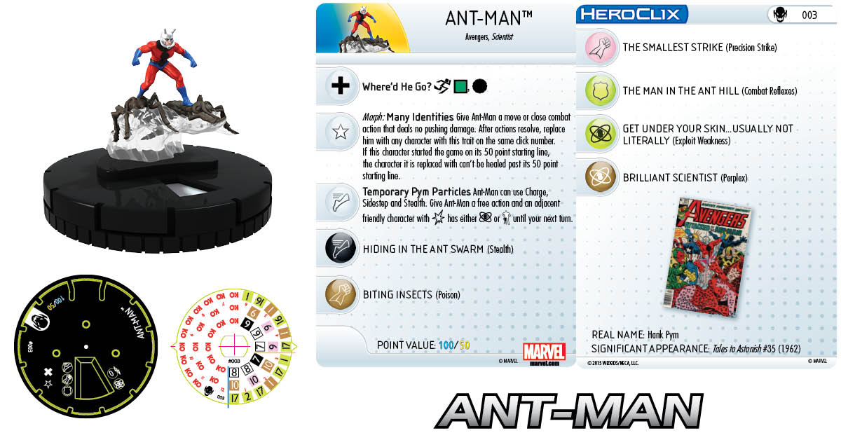 Marvel HeroClix: Age of Ultron SLOP- Ant-Man