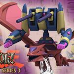 Yu-Gi-Oh! HeroClix: Series Three- X-Head Cannon, Y-Dragon Head & XY-Dragon Cannon
