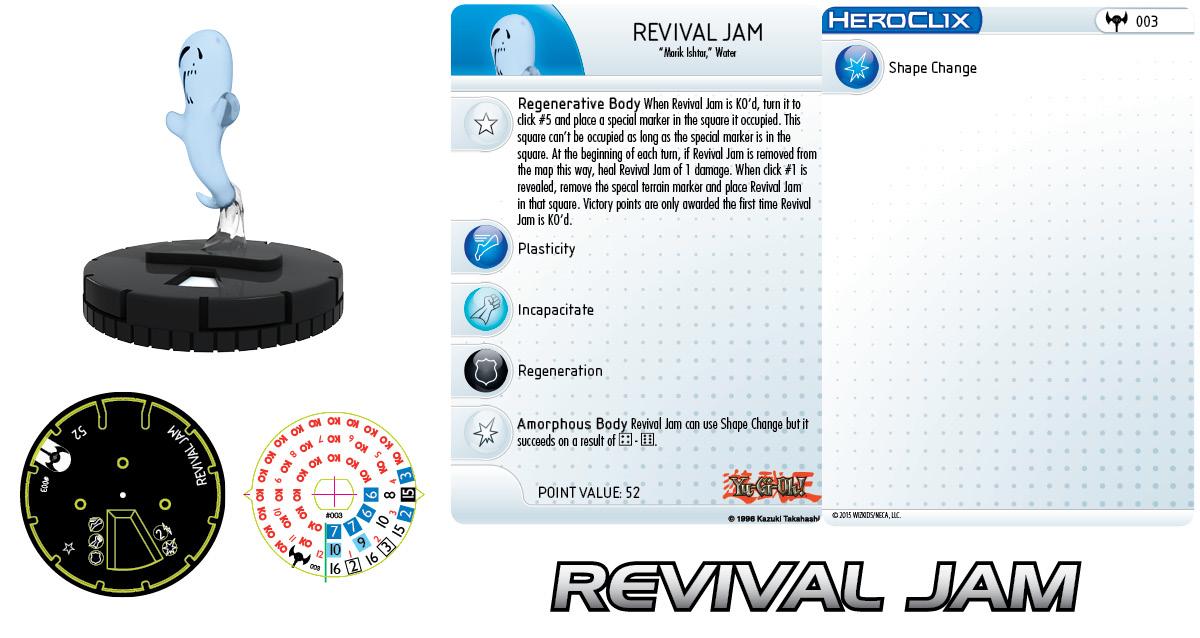 Yu-Gi-Oh! HeroClix: Series 3- Revival Jam