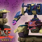 Yu-Gi-Oh! HeroClix: Series Three- Z-Metal Tank & XYZ- Dragon Cannon