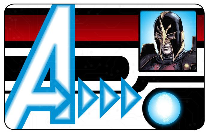 Marvel HeroClix: Avengers ID Card- Black Knight