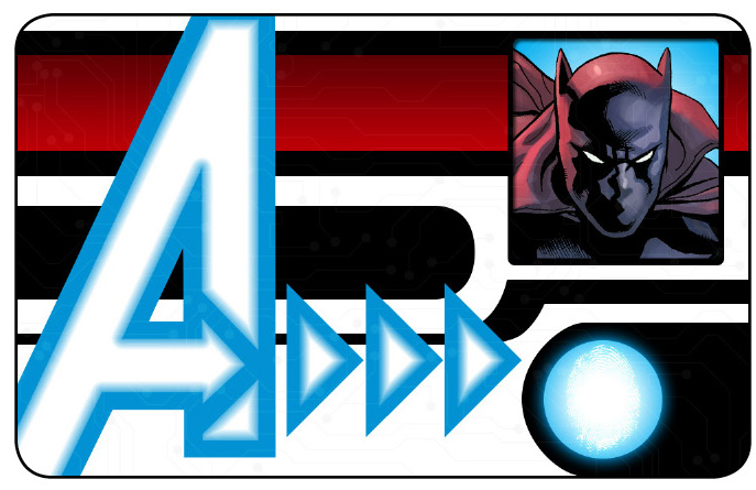 Marvel HeroClix: Avengers ID Card- Black Panther