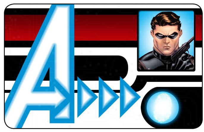 Marvel HeroClix: Avengers ID Card- Bucky Barnes
