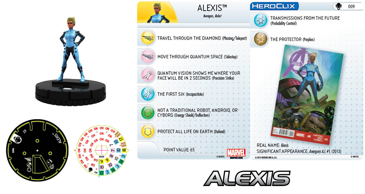 Marvel HeroClix: Age of Ultron SLOP- Alexis