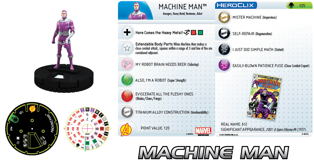 Marvel HeroClix: Age of Ultron Storyline OP- Machine Man