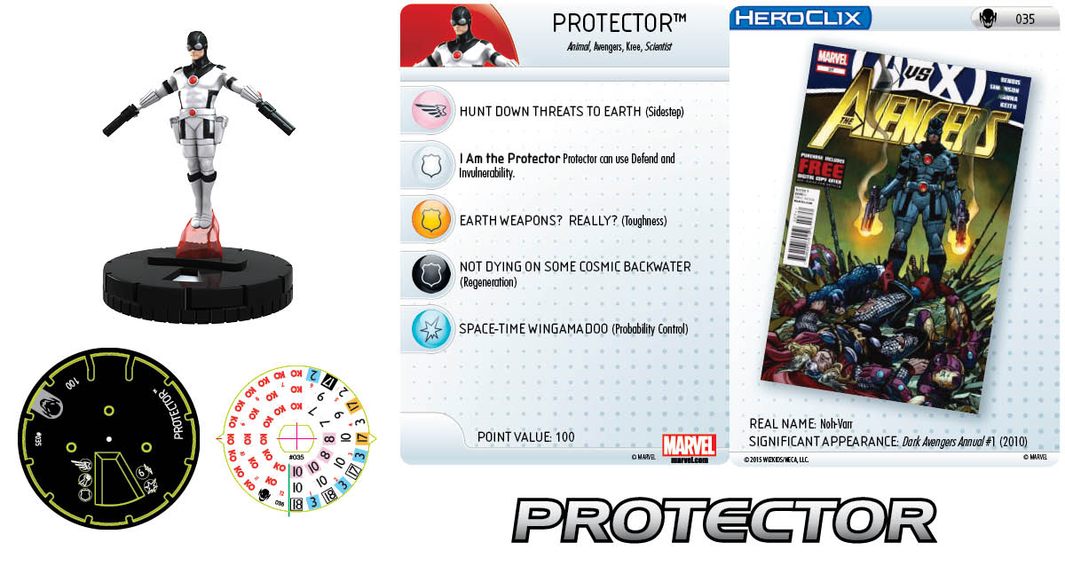 Marvel HeroClix: Age of Ultron SLOP- Protector