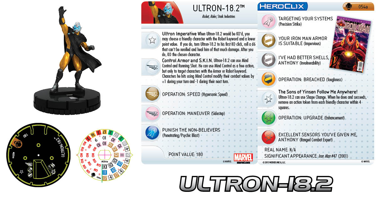 Marvel HeroClix: Age of Ultron- Ultron-18.2