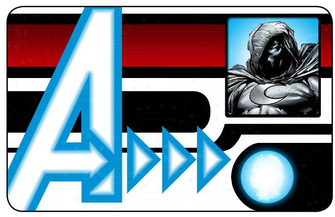 Marvel HeroClix: Avengers ID Card- Moon Knight