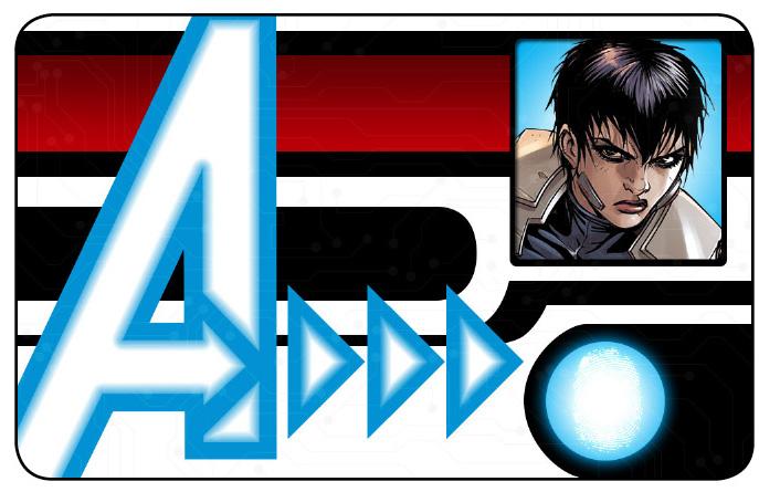 Marvel HeroClix: Avengers ID Card- Quake