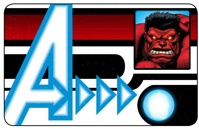 Marvel HeroClix: Avengers ID Card- Red Hulk