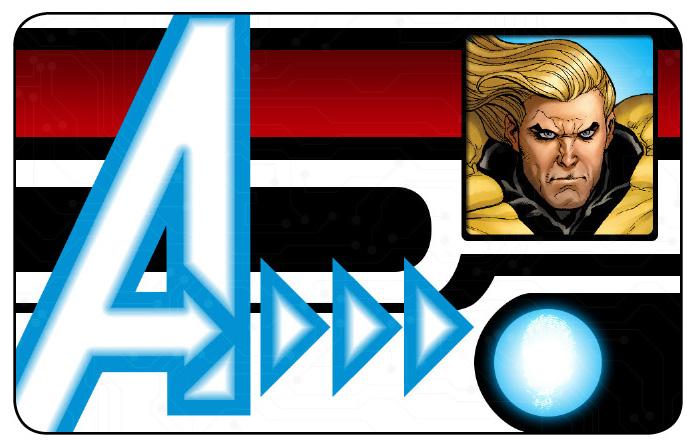 Marvel HeroClix: Avengers ID Card- Sentry