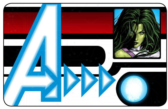 Marvel HeroClix: Avengers ID Card- She-Hulk