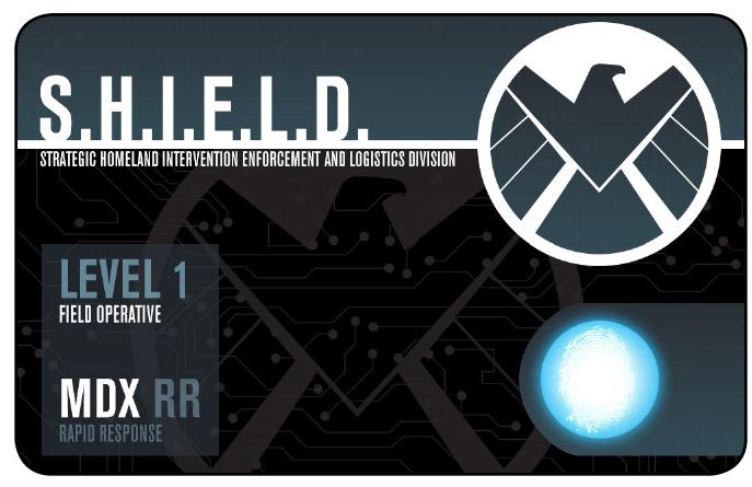 Marvel HeroClix: Avengers ID Card- S.H.I.E.L.D. Reinforcement