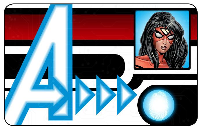 Marvel HeroClix: Avengers ID Card- Spider-Woman