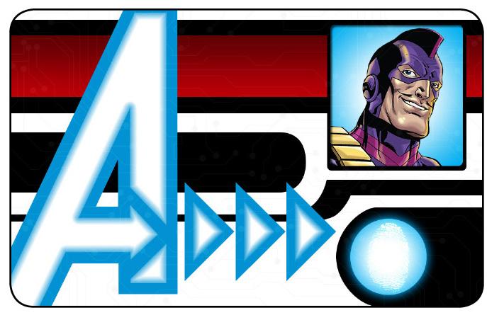 Marvel HeroClix: Avengers ID Card- Swordsman