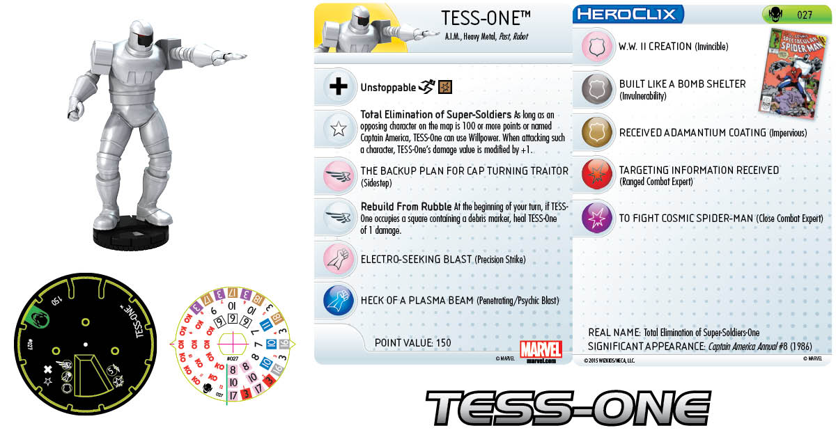 Marvel HeroClix: Age of Ultron Storyline OP- Tess-One
