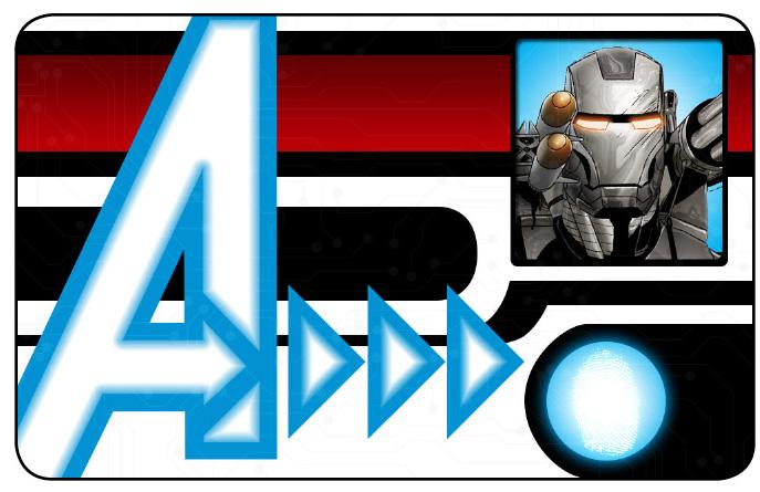 Marvel HeroClix: Avengers ID Card- War Machine
