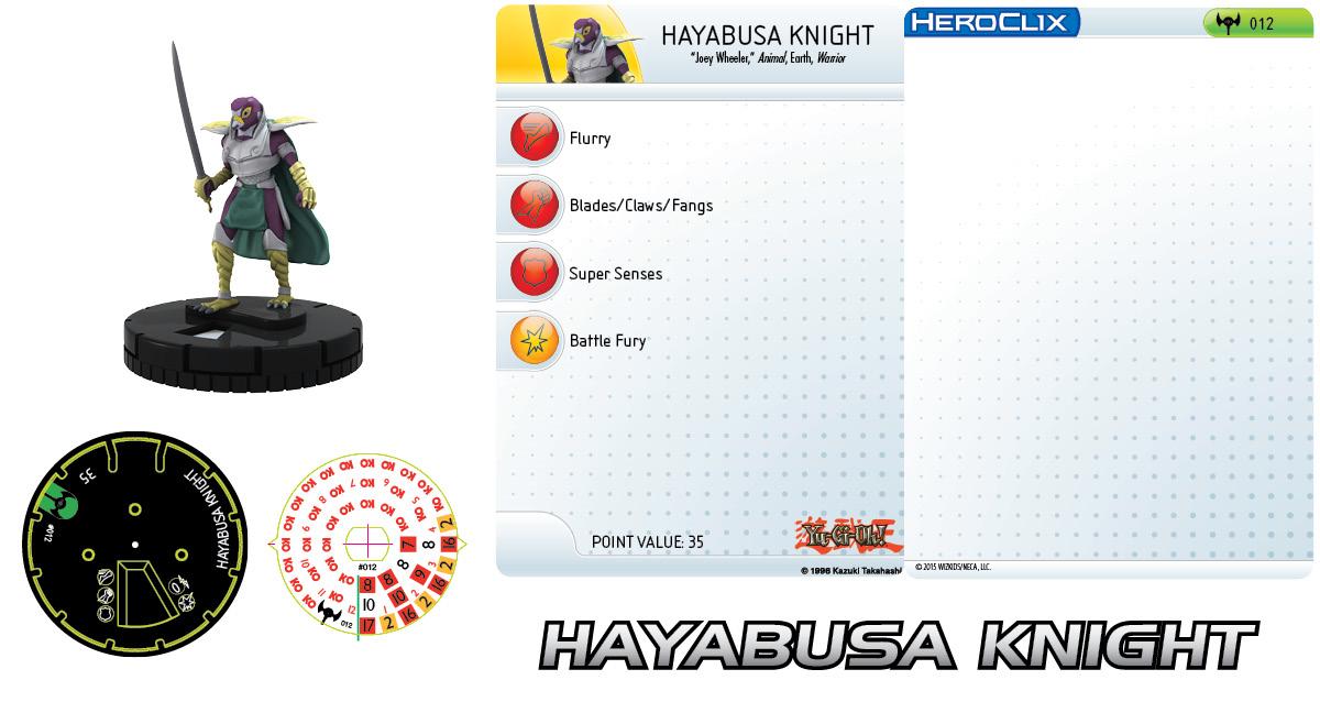 Yu-Gi-Oh! Series Three: Hayabusa Knight