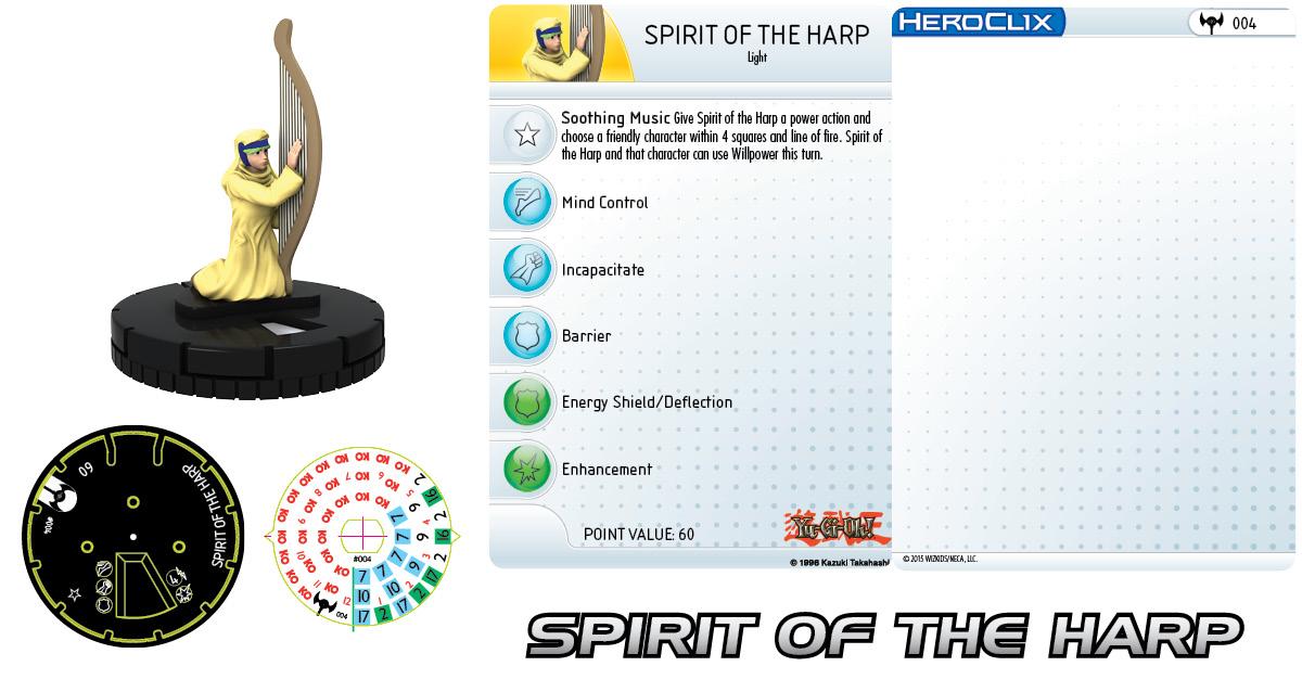 Yu-Gi-Oh! Series Three: Spirit of the Harp