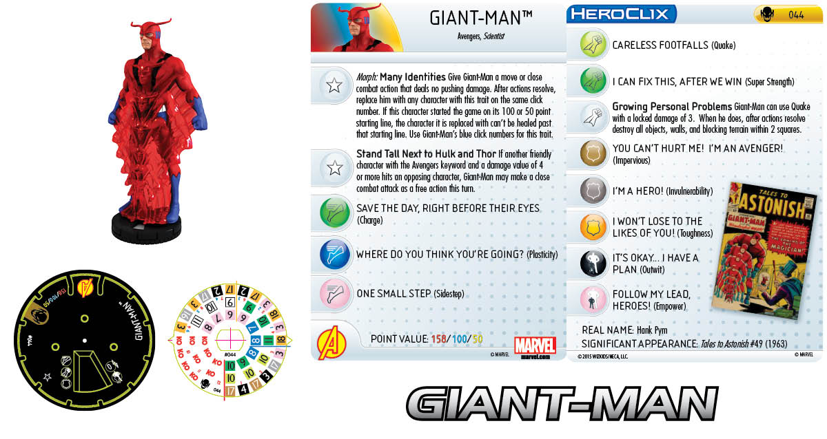 Marvel HeroClix: Age of Ultron- Giant-Man