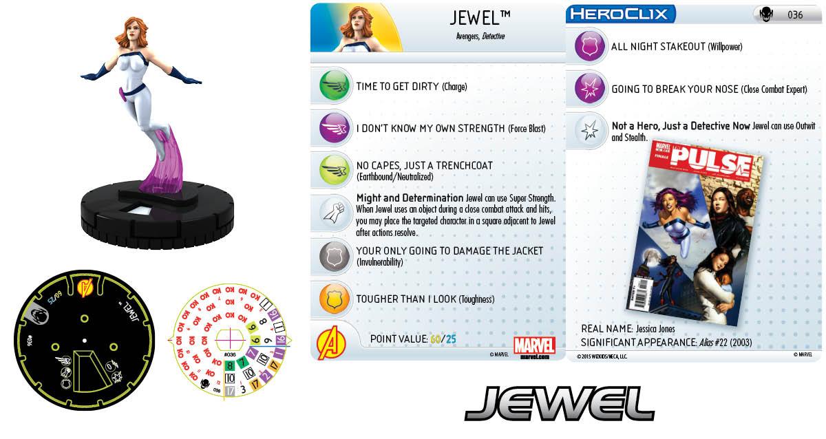 Marvel HeroClix: Age of Ultron SLOP- Jewel