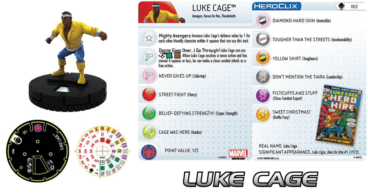 Marvel HeroClix: Age of Ultron SLOP- Luke Cage