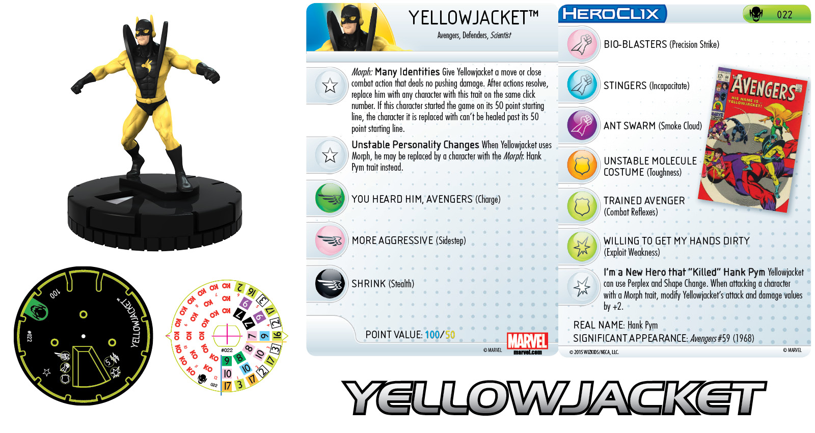Marvel HeroClix: Age of Ultron- Yellowjacket